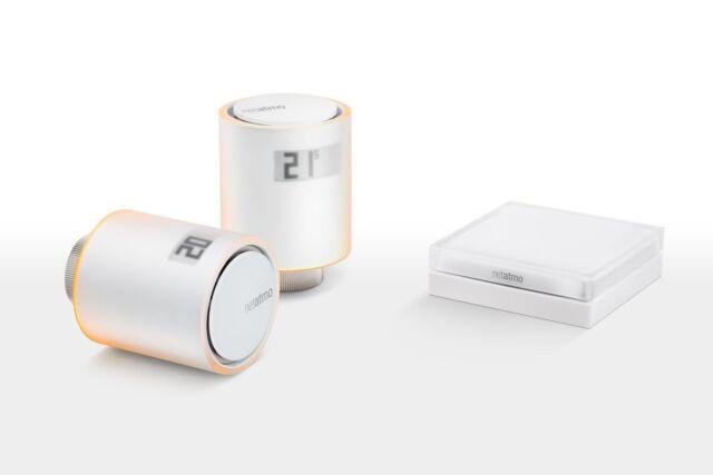 Netatmo Smarte Heizkörper Thermostate Starter-Pack 2x Thermostat inkl. Relay