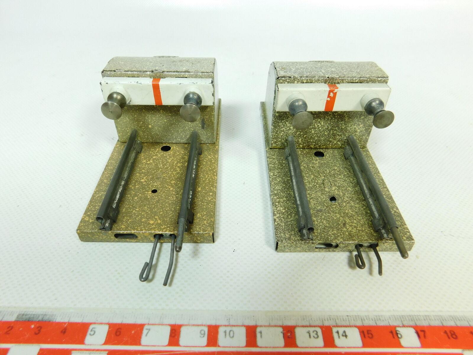 Br789-0, 5  2x   traccia 0 lamiera-Prell CAVALLETTO con molla buffer  senza scudo