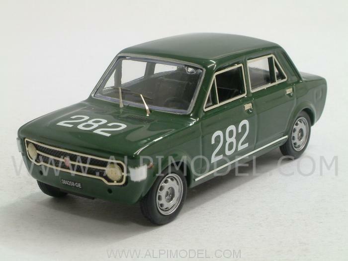 Fiat 128 Trento-Bondone 1969 E.Olivari 1  43 RIO 4343  beaucoup de concessions