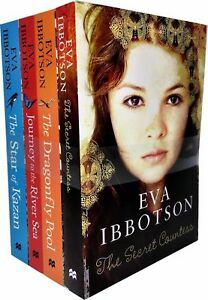 Eva-Ibbotson-Collection-4-Books-Set-Pack-Journey-to-River-Sea-Dragonfly-Pool