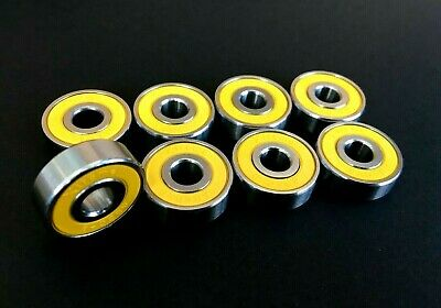 Xtreme ABEC-11 608 RS REDS ALL WEATHER STAINLESS BEARINGS SKATEBOARD SCOOTER