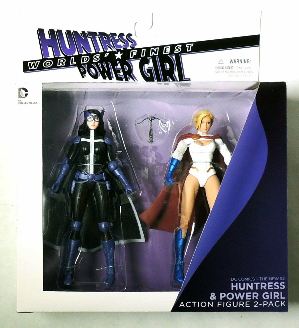 MW616. nuovo 52 Huntress & energia Girl azione cifra 2Pack from DC Collectibles