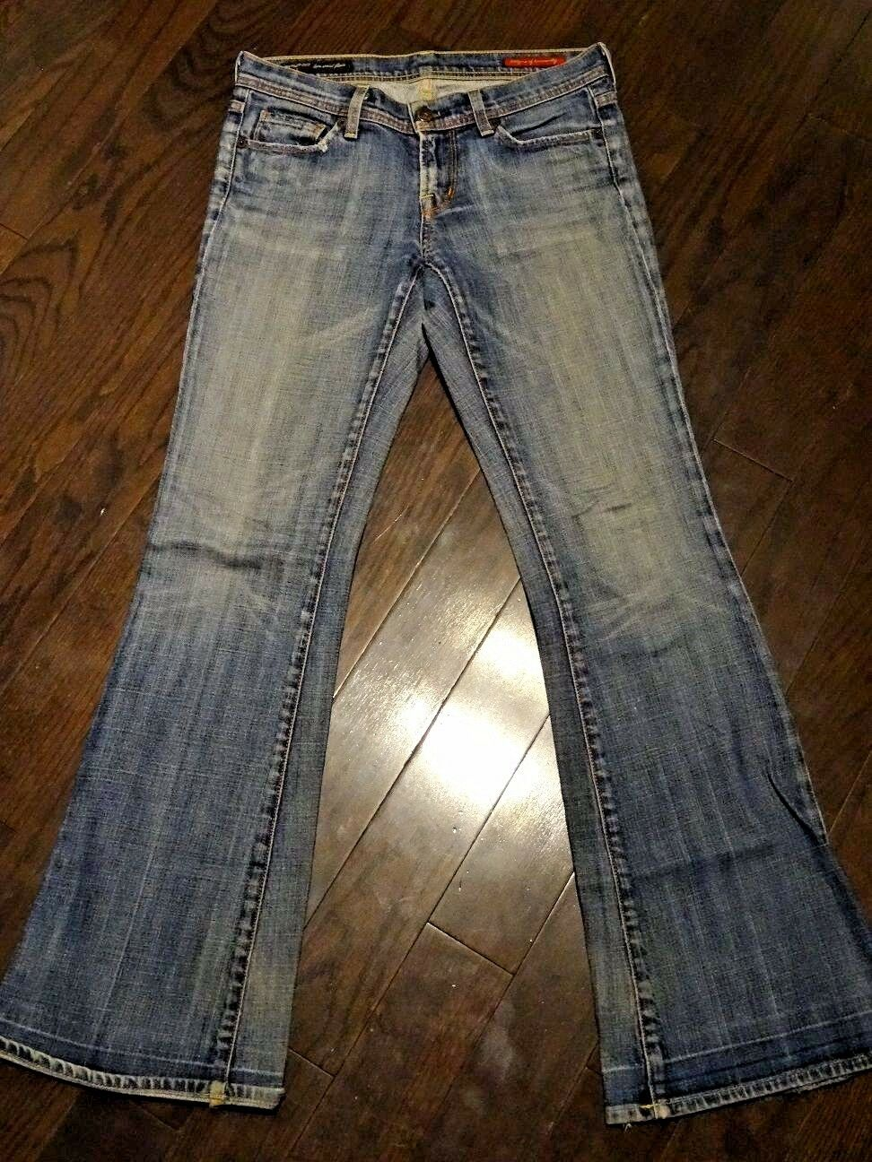 Citizens of Humanity Women's Ingrid Stretch Low Waist Flair Jeans Size 26