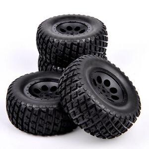4Pcs-12mm-Hex-Tires-Wheel-Rim-For-RC-1-10-TRAXXAS-SLASH-HPI-Short-Course-Truck