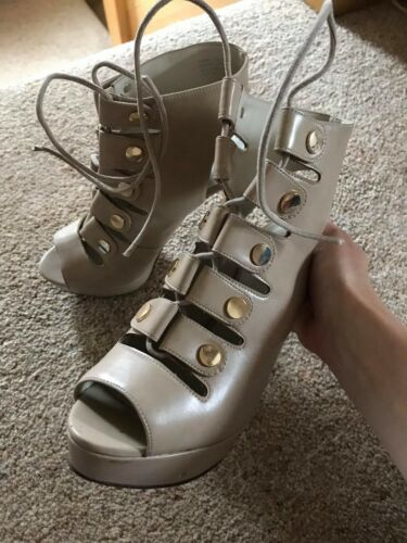 Lace Aldo High Up Cream Heels Zqnq6fg