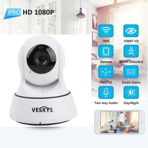 HD 1080P Home Security WiFi IP Camera Two-way Audio CCTV Baby Pet Monitor IR-CUT