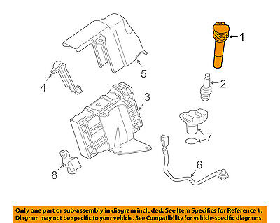 mitsubishi connector pigtail  ignition coil MR994643