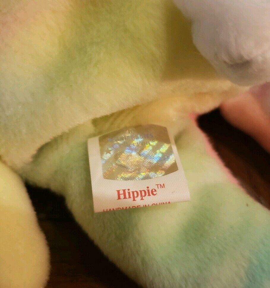 Ty Beanie Beanie Beanie Baby Hippie Rare 1998 1999 Tag Error 7105e4
