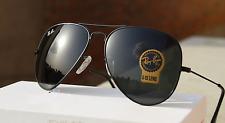BLACK Aviator Style Super Quality Golden Frame Sunglasses For Men's & Women's