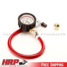 Longacre-Analog Tire Pressure Gauge 0-60 PSI w/ 1 Year Wrty- PN: 50417