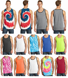 New-Men-039-s-Tank-Top-Suns-Out-Guns-Out-Muscle-Workout-Shirt-Tie-Dye-and-26-Options