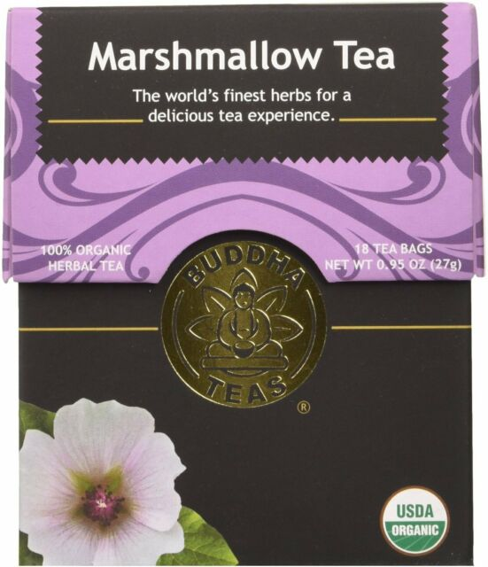 Marshmallow Tea by Buddha Teas, 18 tea bag 1 pack