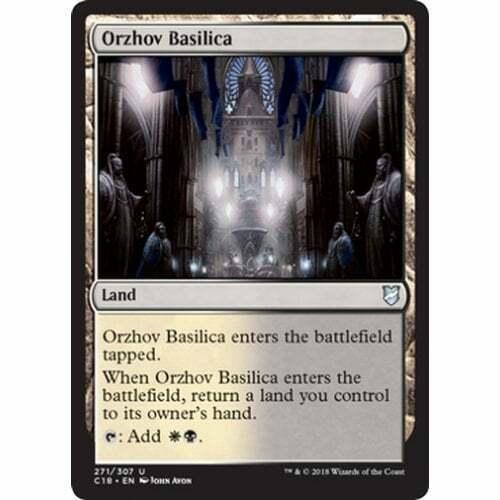 * Orzhov Basilica MTG COMMANDER 2018 Edition