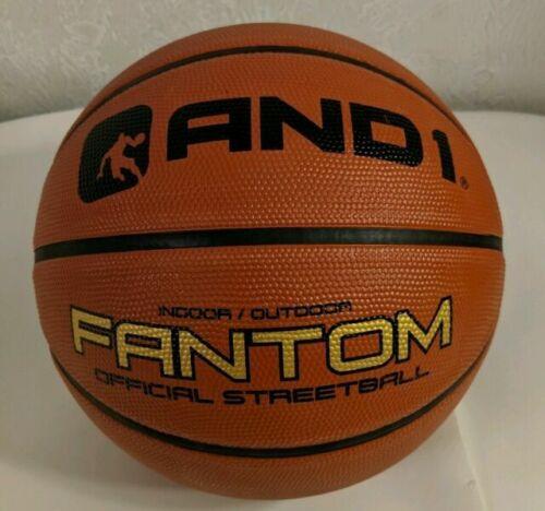 New Unused AND1 Fantom Steetball Basketball Indoor Outdoor