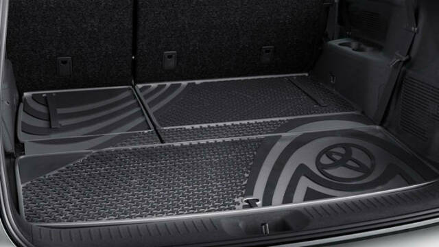 New Genuine Toyota KLUGER RUBBER Cargo MAT 2013 - ONWARDS PZQ2048240