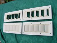 6 Pack Boat Vent Louver 14 Bilge Exhaust Sea Ray Silverton Six Vents Save
