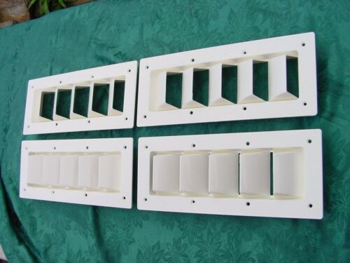 """6 PACK BOAT VENT LOUVER 14/"""" BILGE EXHAUST SEA RAY  SILVERTON SIX VENTS SAVE!"""