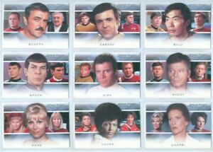 Star Trek 50th Anniversary Bridge Crew Heroes Chase Card P2 Spock