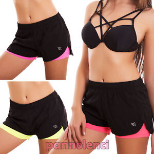 Sport Mode Neuf Femme Maillot Ws5108 Détails Cache Sur Robe Fitness Mer Fluo Short 8vyOPmN0nw