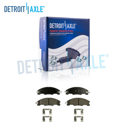Front Ceramic Brake Pads w//Hardware for 2008 2009 2010 2011 Ford Focus