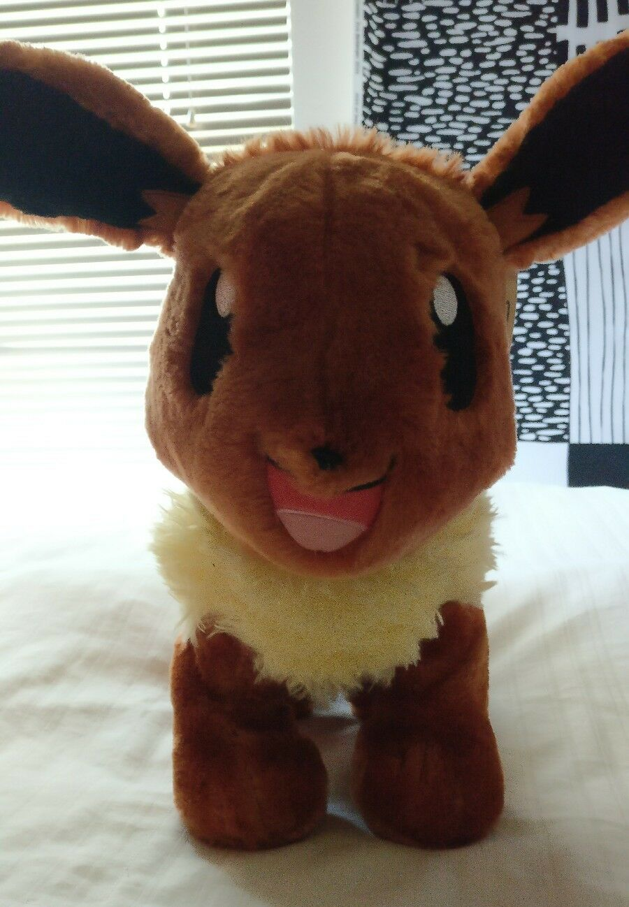 Build A Bear BAB Pokemon Plush Eevee, nuovo with with with tags NWT 8d4d37