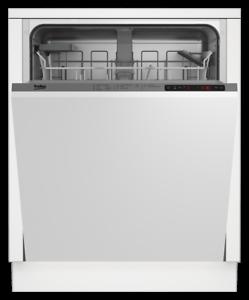 Beko dip2843 Lave-vaisselle Lave-vaisselle pleinement intégrés 14mgd Bon état++