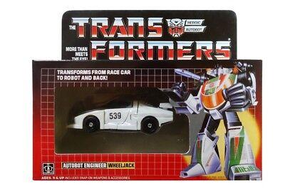 New arrival Transformer G1 Wheeljack reissue boxed brand new