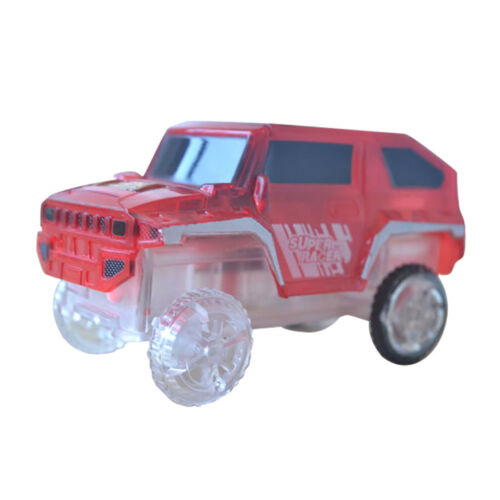 Electronics Special Car for Magic Track Toys With Flashing Lights Educational