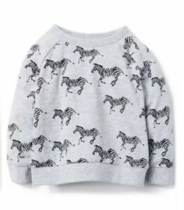 Fine Nwt Gymboree Girls Camp Must Haves Grey Zebra Shirt 2t Sales Of Quality Assurance Baby & Toddler Clothing