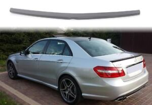 Mercedes E Class W212 Amg Style Rear Boot Spoiler Tuning Ebay