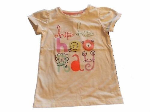 NWT Girls Gymboree Hello Happy Hip Hop Hooray short sleeve shirt 18-24 months 4T