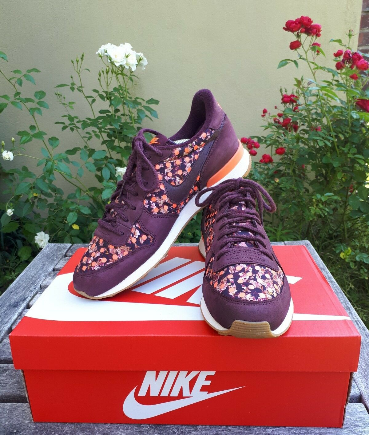 Nike Internationalist x Liberty of London WMNS US 10,5 Vortex Epic Afew Patta