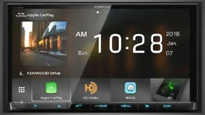 Kenwood-DMX905S-6-95-034-WVGA-DVD-Receiver-w-Apple-CarPlay-amp-Android-Auto