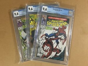 The-Amazing-Spiderman-361-362-363-CGC-9-6-Lot-1st-App-of-Carnage-Marvel-Comics