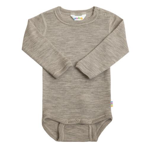 Joha Baby Mädchen Jungen Body langarm Gr 50-104 Merino-Wolle//Seide Wollbody
