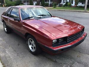 1986 Mercury Capri GS