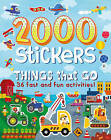 2000 Stickers - Things That Go!: 36 Fast and Fun Activities! by Parragon Book Service Ltd (Paperback, 2016)