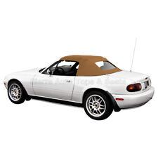 Miata Convertible Top 1990 05 Tan Cabrio Vinyl With Zippered Glass Window Fits Mazda Miata