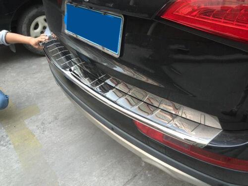 Rear Door Bumper Skid Plate For AUDI Q5 2013-2016 Board Guard Bar Protect