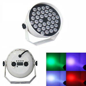 36W LED RGB Stage Lighting DMX Disco Party DJ Xmas Club PAR Light Show US Plug