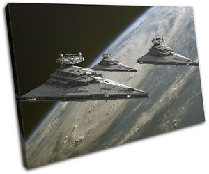 Star Wars Star Destroyer Movie Greats SINGLE CANVAS WALL ART Picture Print