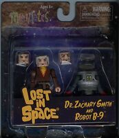 Minimates Lost In Space Dr Zachary Smith And Robot B-9 Mint