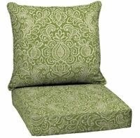 Deep Seat Chair Cushion Outdoor Furniture Wicker Patio Seating Replacement Solid