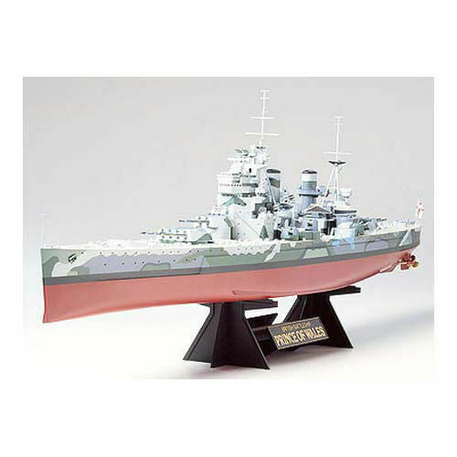 TAMIYA 78011 HMS Principe di Galles 1:350 Kit Modello Nave