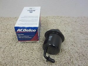 NEW Genuine ACDelco Fuel Filter GF826 fits Suzuki Vitara JLS JLX JS JX 1999-2003