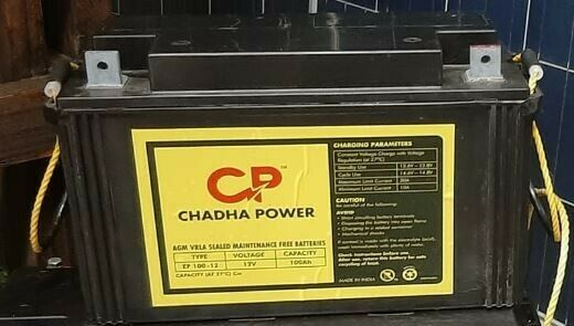 100AH & 200AH CHADA BATTERIES Deep Cycle