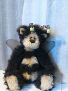 Artist-made-Vintage-Mohair-13-034-BUFFY-BUMBLE-wire-antini-PRISTINE-NEW