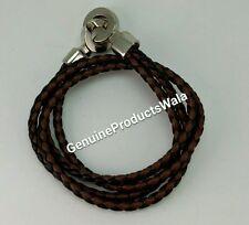 Brown Black Band cum Bracelet Stylish Trendy Wrist Band Men's Fashion
