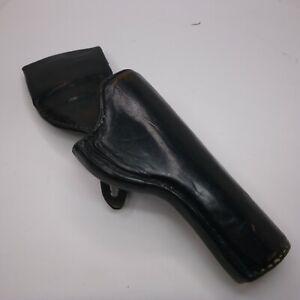 VINTAGE K-Frame Holster S&W LEATHER Revolver BELT QUICK DRAW