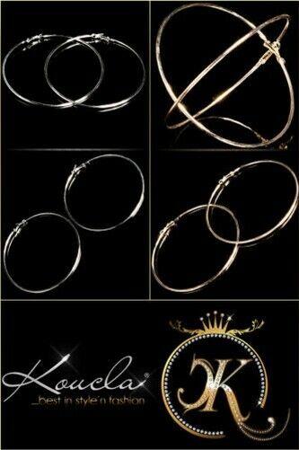 XXL Fashion Jewellery Hoop